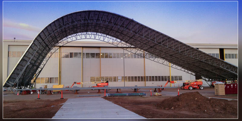 Design Build Mobile Tail Enclosure Kc 46 Hangar 285 At